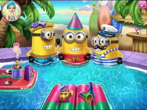 minions la plage jeux gratuit