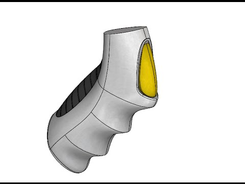 SolidWorks - Organic Shapes with Reference Surfaces