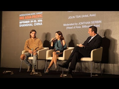 IMS Asia-Pacific 2016: Alesso 'In Conversation' with Jolin T