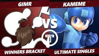 Thunder Smash 3 SSBU - VGBC GimR (G&W) VS R2G Kameme (Mega Man) Smash Ultimate Winners Bracket
