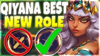 I think i found Qiyana's BEST NEW ROLE! (Better Than Mid) - League of Legends
