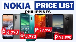 Nokia Phones Price List in the Philippines 2020