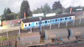 howes sound chipped class 121 dmu station departure