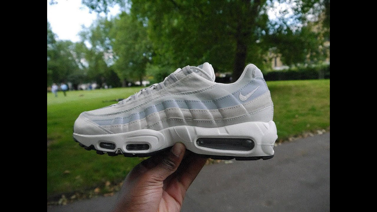 Air Max 95 Essential Review   On Feet (Phantom White) - YouTube 9be9123f1