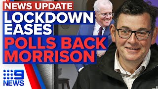 Coronavirus: Melbourne takes another step to freedom, Morrison's popularity soars | 9 News Australia