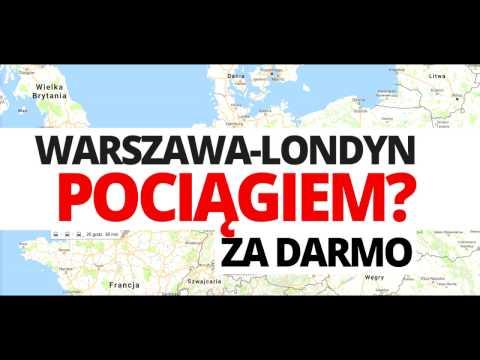 Podróż pociągiem Polska Londyn