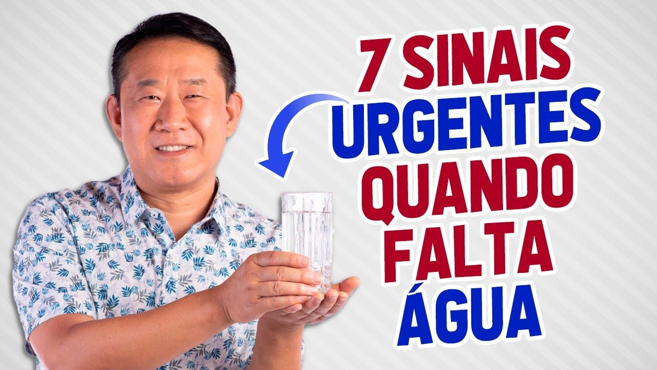 7 SINAIS QUE ESTA FALTANDO ÁGUA EM SEU ORGANISMO | Dr. Peter Liu