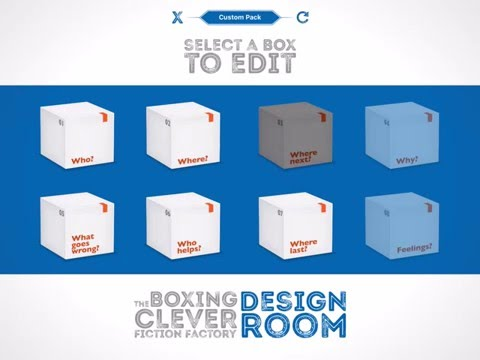 The Boxing Clever Fiction Factory: Design Room