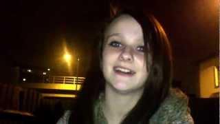 White Girl singing Indian song