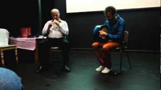 Slide - Micheal O hAlmhain and Eamonn Murray, Craiceann Bodhran Festival 2012
