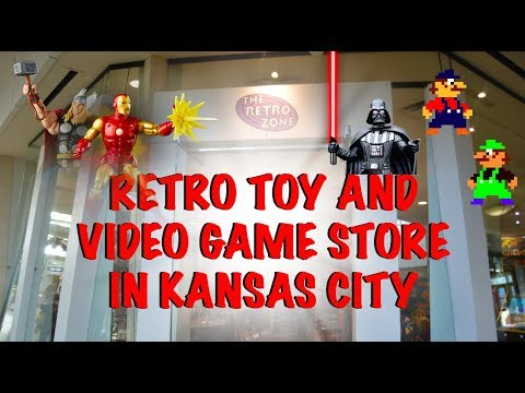 Kansas City Retro Zone Store : Retro Toys, Vintage Video Games And Arcade At Oak Park Mall