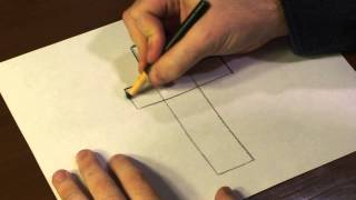 How to Draw a Catholic Cross