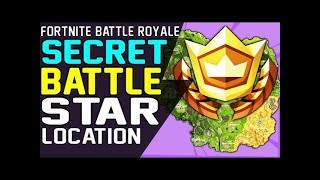 SECRET BATTLE STAR WEEK 9 LOCATION FORTNITE SEASON 6 HUNTING PARTY CHALLENGE - Secret Battle Stars