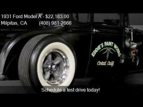 1931 Ford Model A  for sale in Milpitas, CA 95035 at NBS Aut