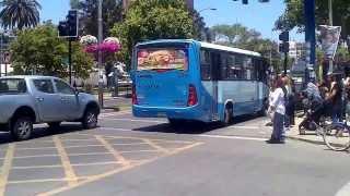 bus con bocina de camion