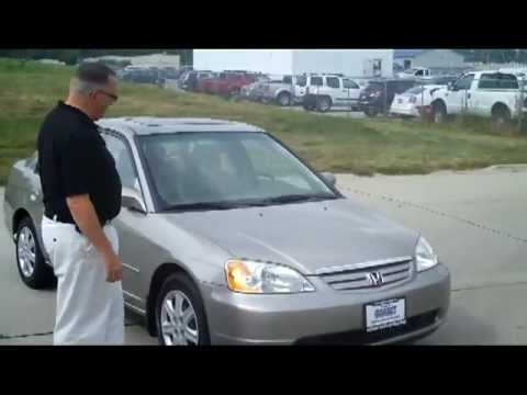 Used 2003 Honda Civic EX Sedan for sale at Honda Cars of Bellevue...an Omaha Honda Dealer!