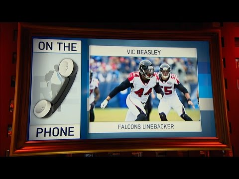 Atlanta Falcons's OLB Vic Beasley Talks Clemson Upsetting Alabama To Win CFB Title & More - 1/10/17