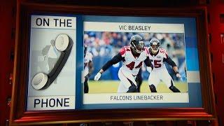 Atlanta Falcons's OLB Vic Beasley Talks Clemson Upsetting Alabama To Win CFB Title & More - 1/10/17