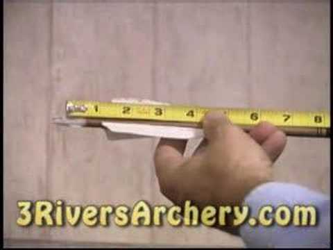 3Rivers Archery:  Determining Draw Length