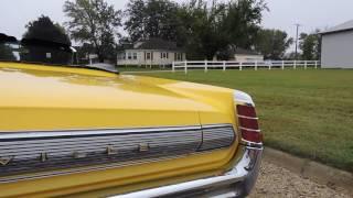 1963 pontiac bonniville yellow convertible for sale at www coyoteclassics com