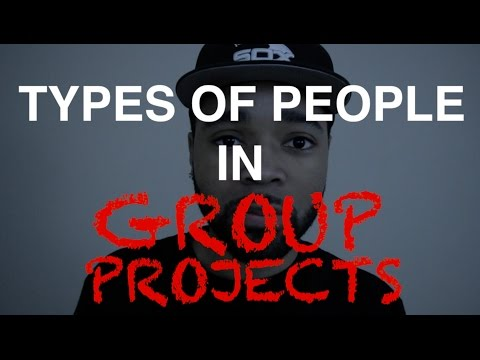 Types Of People In Group Projects