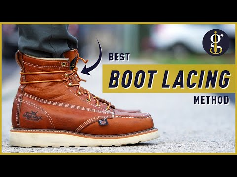 How To: Heel Lock Lacing Boots (Best Shoe Tying Method to Prevent Blisters & Black Toenails)