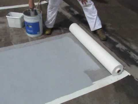 How To Paint A Flat Roof Youtube