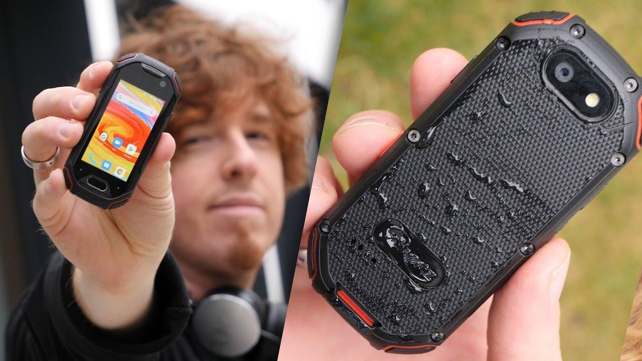 Das kleinste Android-Smartphone der Welt? Unihertz Atom im HandsOn