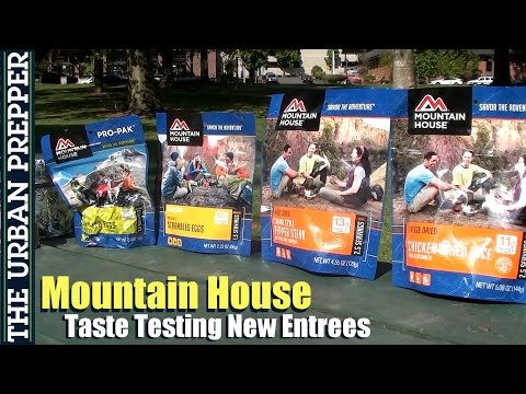 Mountain House Taste Testing (New Entrees) by TheUrbanPrepper