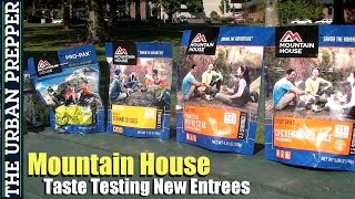 Mountain House Taste Testing (New Entrees) by TheUrbanPrepper