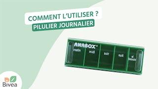 Le Pilulier Journalier Anabox - Prise de médicament quotidienne
