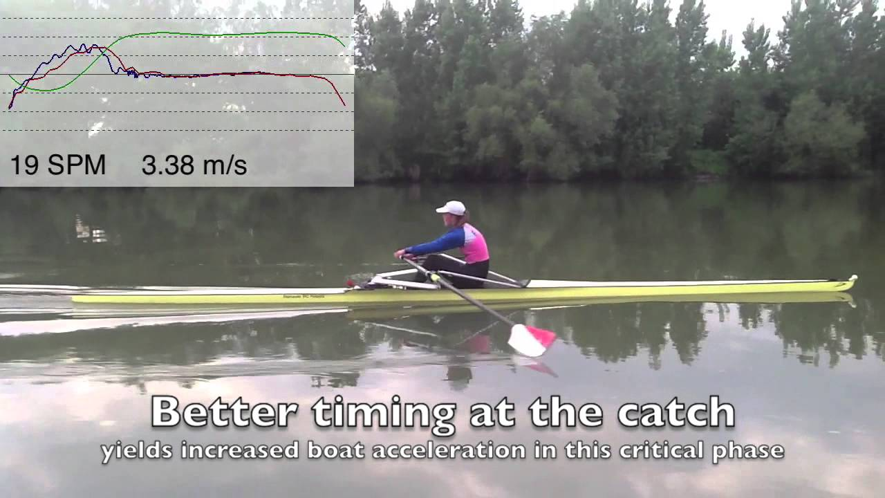 Improve your Stroke - hit the catch - Rowing in Motion