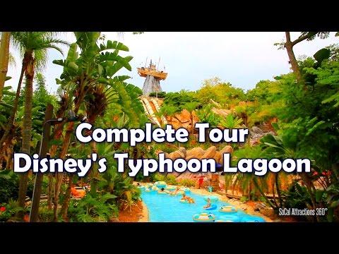[HD] Full Tour of Disney's Typhoon Lagoon Water Park - Walt Disney World