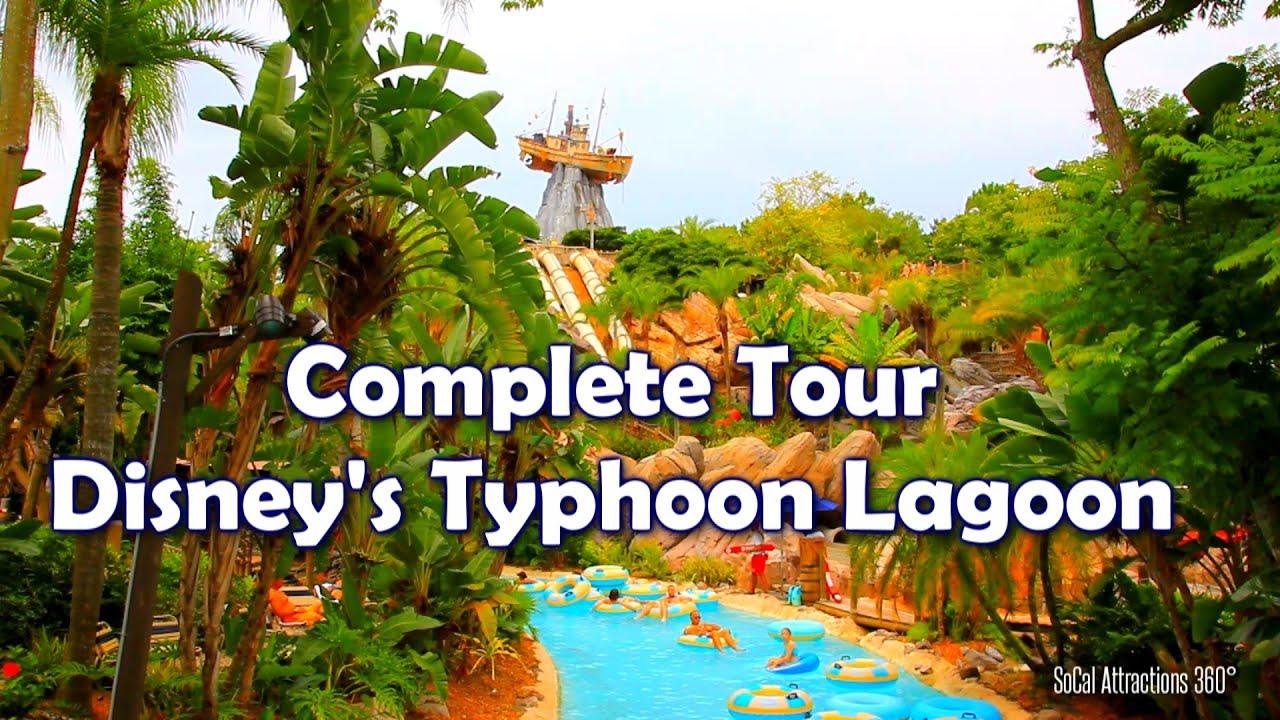 [HD] Full Tour of Disney\'s Typhoon Lagoon Water Park - Walt Disney World