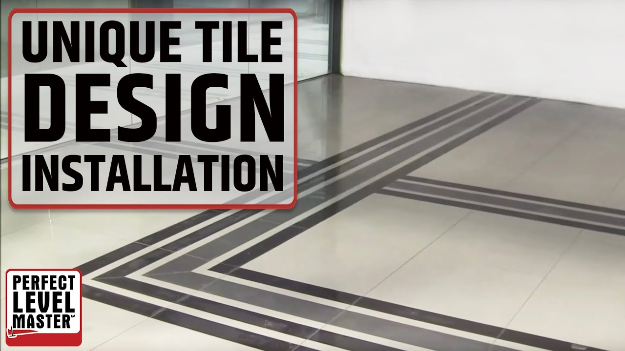 Unique Design Porcelain Tiles Installation With T Lock