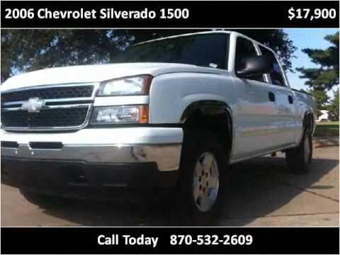 2006 Chevrolet Silverado 1500 Used Cars Gosnell AR