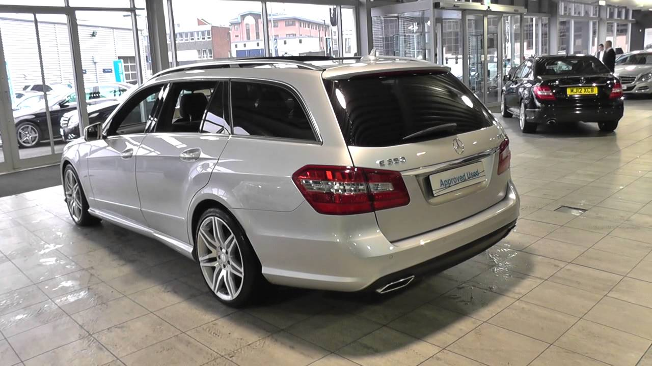 All Types mercedes e class estate 2010 : Mercedes-Benz E-Class Estate E350 CDI Sport Estate U42073 - YouTube