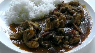 CHICKEN CURRY Recipe How to cook