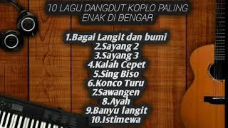 Top Hits -  Dangdut Koplo Paling Enak Buat Kerja Dan Santai