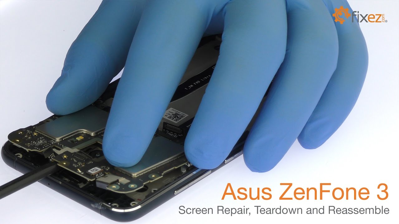 hight resolution of asus zenfone 3 screen repair teardown and reassemble fixez com