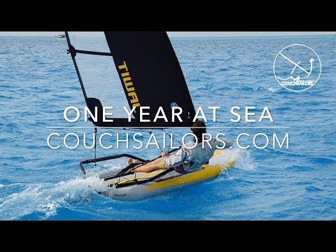 One Year at Sea: Sailing San Francisco to New Zealand    COUCHSAILORS Sailing Journal