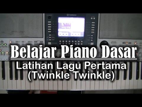 Belajar Piano Dasar - Latihan Lagu pertama (Twinkle-Twinkle)