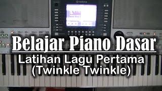 belajar piano dasar latihan lagu pertama twinkle twinkle