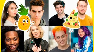 Smosh Family Debates Pineapple on Pizza + More Audience Q&As!
