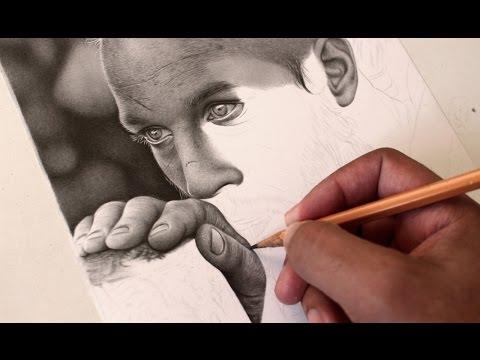 Vídeo Aula - Desenho Realista Preto e Branco