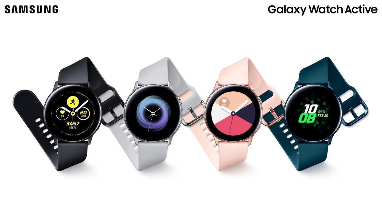 Samsung Galaxy Watch Active - SM-R500NZKAXSA - Black