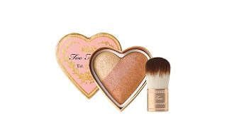 Too Faced Sweethearts Peach Beach Blush with Brush