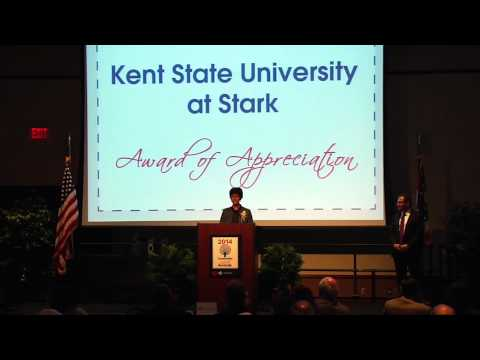 2014 Community Salute Awards Kent State University at Stark Acceptance Remarks