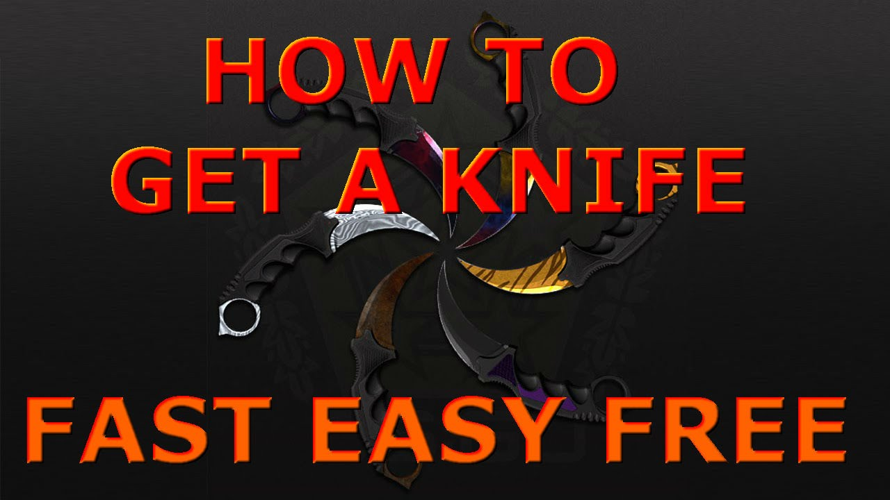 How to get a FREE CS:GO KNIFE (and more skins) -2016- by Brothers In Games