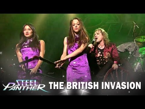 "Steel Panther - ""The British Invasion"" Teaser #2 ""Asian Hooker"""